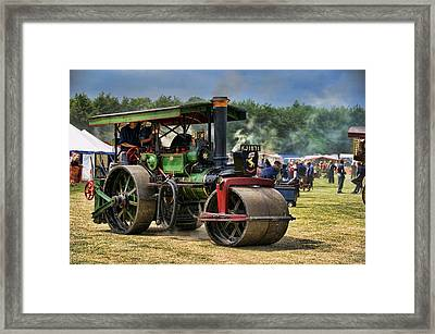 Traction Engine Framed Print by Jeff Dalton