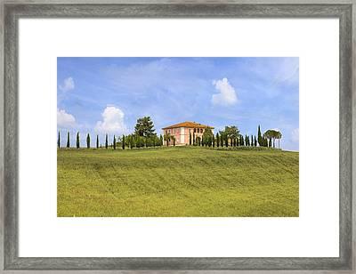 Tuscany - Montalcino Framed Print