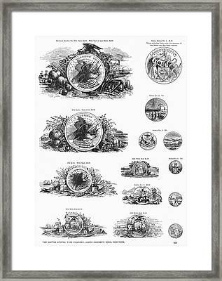 Type Foundry Designs Framed Print by Granger