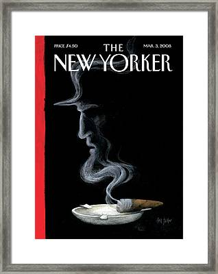 New Yorker March 3rd, 2008 Framed Print