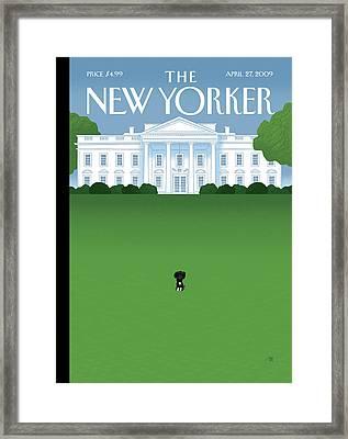 New Yorker April 27th, 2009 Framed Print