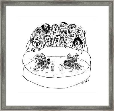 New Yorker September 26th, 2016 Framed Print