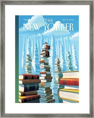 New Yorker November 6th, 2006 Framed Print