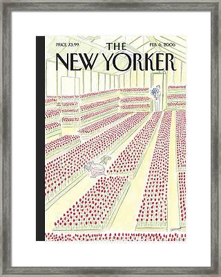 New Yorker February 6th, 2006 Framed Print