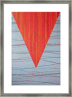 Untitled Framed Print by Kyung Hee Hogg