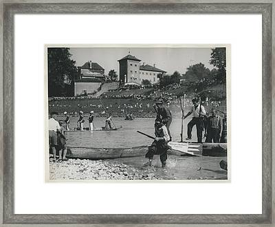 Rude Awakening  Framed Print by Retro Images Archive