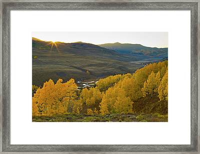 Usa, Colorado, Rocky Mountains Framed Print by Jaynes Gallery