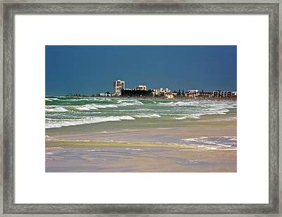 Usa, Florida, Sarasota, Crescent Beach Framed Print