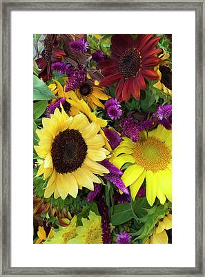 Usa, Georgia, Savannah, Bouquet Framed Print by Joanne Wells