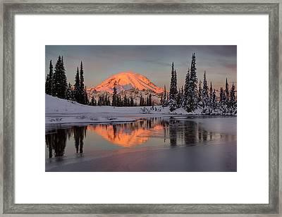 Wa, Mount Rainier National Park, Mount Framed Print