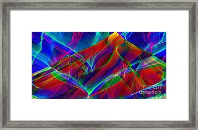 Wave Energy Framed Print by Eric Heller