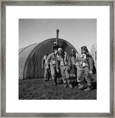 Wwii: Tuskegee Airmen, 1945 Framed Print by Granger