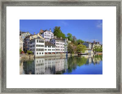 Zurich Framed Print by Joana Kruse