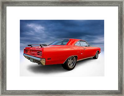 '70 Roadrunner Framed Print by Douglas Pittman