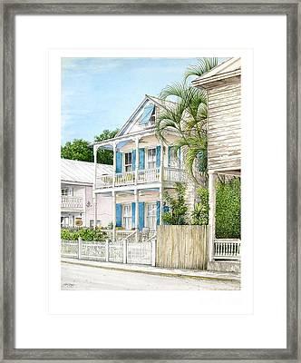 704 Caroline Street Framed Print