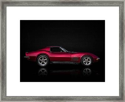 '71 Red Framed Print