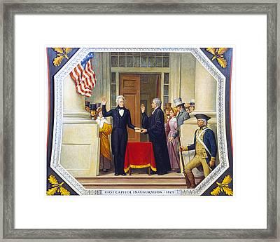 Andrew Jackson (1767-1845) Framed Print