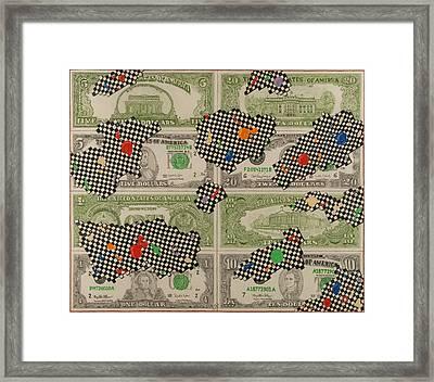 72 Framed Print by Angelo Sena