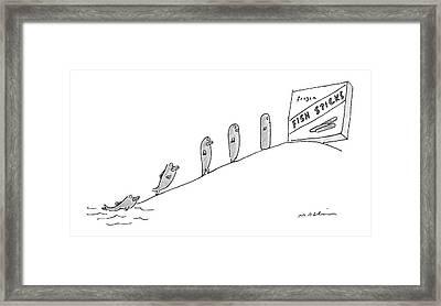 New Yorker December 3rd, 2007 Framed Print