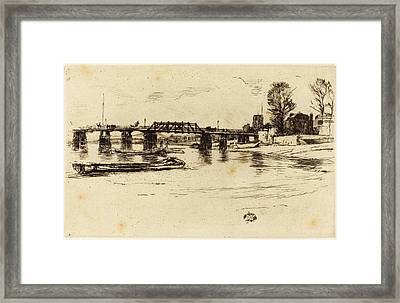 James Mcneill Whistler American, 1834 - 1903 Framed Print