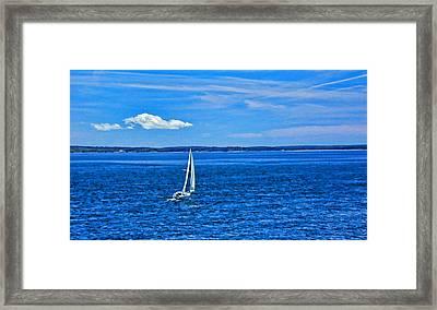 7316-bar-harbor Framed Print