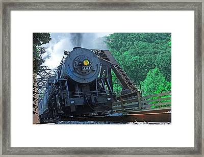 Framed Print featuring the photograph 734 by Mike Flynn