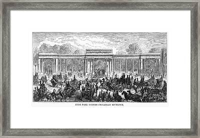 Dor� London, 1872 Framed Print by Granger