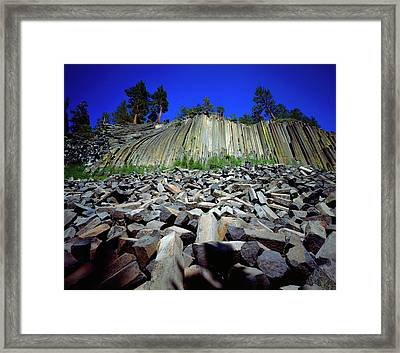 Usa, California, Sierra Nevada Mountains Framed Print by Jaynes Gallery