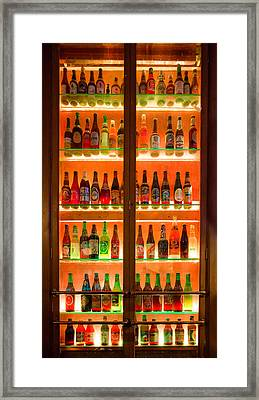 76 Bottles Of Beer Framed Print by Semmick Photo