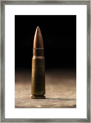 7.62 X 39mm Framed Print by Andrew Pacheco