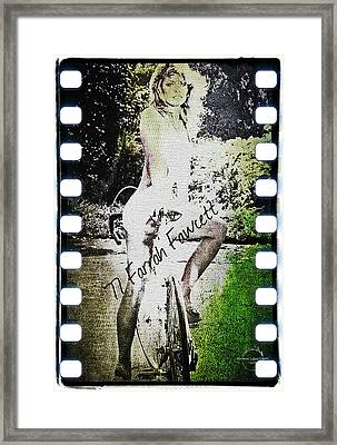 '77 Farrah Fawcett Framed Print