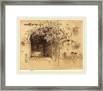 James Mcneill Whistler American, 1834-1903 Framed Print by Litz Collection
