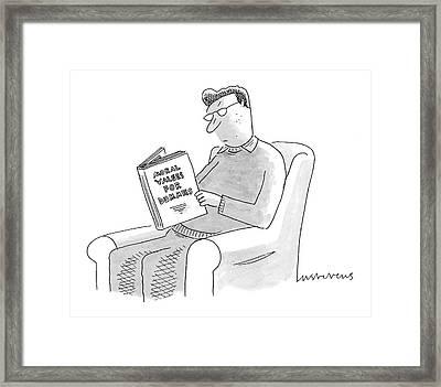 New Yorker January 24th, 2005 Framed Print