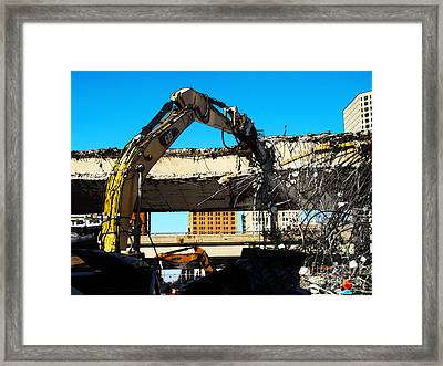 794 Teardown 2014 Framed Print by David Blank