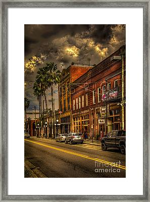 7th Avenue Framed Print