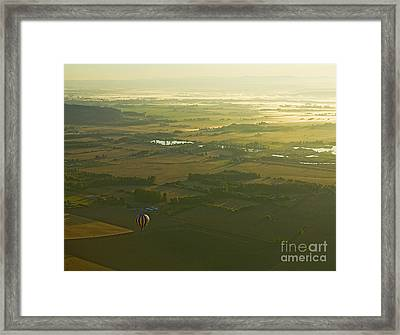 Framed Print featuring the photograph 7th Heaven by Nick  Boren