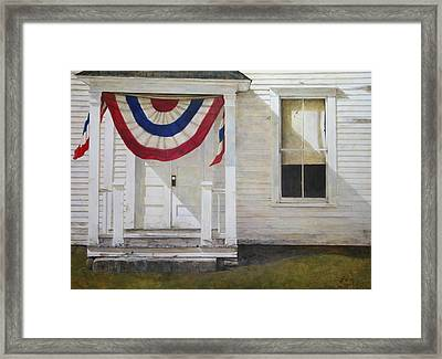 7th Of July Framed Print by Stephen Hodecker