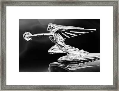 1935 Packard Hood Ornament Framed Print