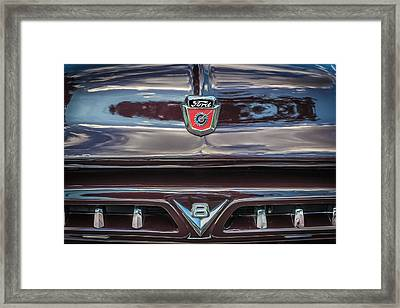 1953 Ford F100 Pickup Truck  Framed Print by Rich Franco