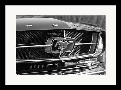 1965 Mustang Framed Prints