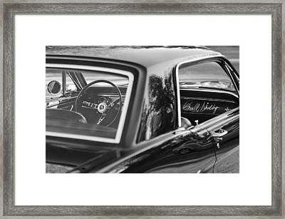 1965 Shelby Prototype Ford Mustang Framed Print by Jill Reger