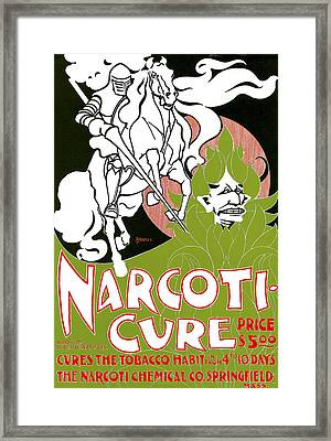 Narcoti Cure Framed Print by William H Bradley
