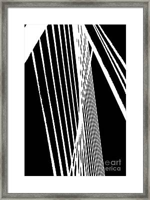 Abstract Framed Print by Rose Wang