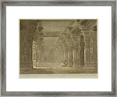 Antiquities Of India Framed Print by British Library