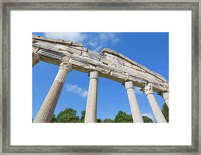 Apollonia, Or Apoloni, Albania Framed Print by Ken Welsh