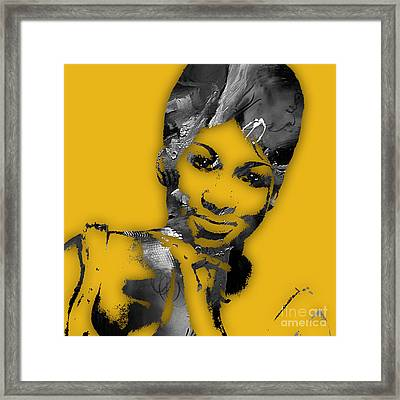 Aretha Franklin Collection Framed Print