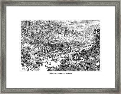 Arkansas Hot Springs Framed Print