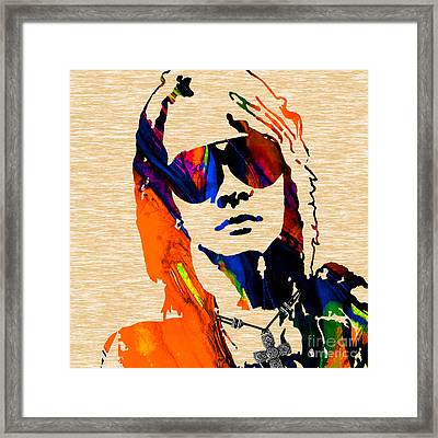 Axl Roxe Collection Framed Print