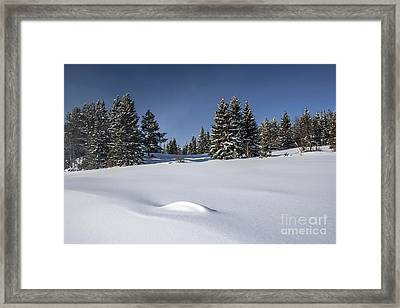 Beautiful Winter Landscape Framed Print by IB Photo