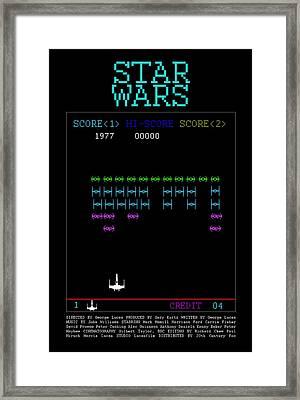 8-bit Arcade Framed Print